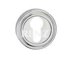 Накладка на цилиндр ЕТ 16 СР/хром блест./RENZ/