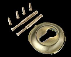 Накладка на цилиндр ЕТ 08 AB/бронза ант./TIXX/