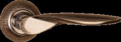 .Ручка дверная AL 509-08 АВ/бронза/PUERTO/