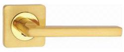.Ручка дверная ВИТО квадр. DH 214-05 SG/мат.латунь/TIXX/