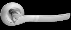 .Ручка дверная ОРСО DH 201-08 SN/NP/мат.ник.-никель/TIXX/