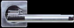 .Ручка дверная AL квадр. 514-02 SN/NP/мат.никель-никель/PUERTO/
