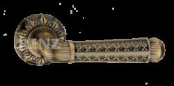 .Ручка дверная АЛЬБИНО DH 63-10 АВ/бронза ант./RENZ/