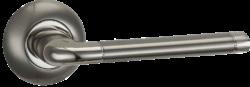 .Ручка дверная AL 503-08 SN/NP/мат.ник.-никель/PUERTO/