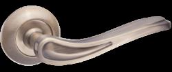 .Ручка дверная КЛЕМЕНТИНА DH 208-08 АВ/бронза ант./TIXX/
