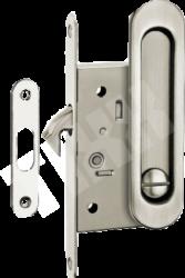 Ручки для раздв.дверей с замком SDH-ВК 501SN/мат.никель/фикс./TIXX/