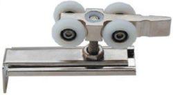 . Комплект роликов для раздвижных дверей до 80кг DR04/RENZ/