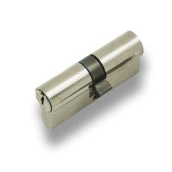 Цилиндр. мех. 80 мм 5кл. /хром/ГАРАНТ/