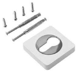 Накладка на цилиндр квадр. ET 02 MSN /супер матовый никель/RENZ/