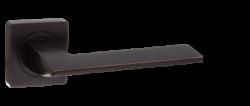 .Ручка дверная AL квадр. 531-02 АВВ/бронза черная.с пат./PUERTO/