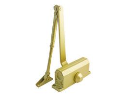 Доводчик № 4 S морозост. (до 120 кг) золото (604 gold) /Нора-М/