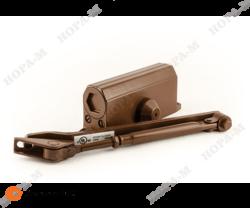 Доводчик № 3 Sбол. морозост. (до 80 кг) коричневый /Нора-М/